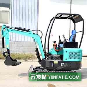 山东工程履带式工程挖土机_农用果园微型挖机