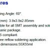 405nm 紫外UVALED 3939封装