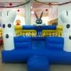 广场商场充气儿童城堡批发充气户外大型玩具滑梯商场城堡速开