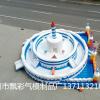十一国庆节充气城堡定制报价蛋糕充气城堡蹦蹦床气垫透明城堡