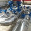防腐保温工程施工单位电厂玻璃棉板不锈钢管道保温